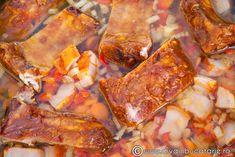 ciorba-de-cartofi-cu-afumatura-si-tarhon-2 Chicken Wings, Meat, Food, Eten, Meals, Diet