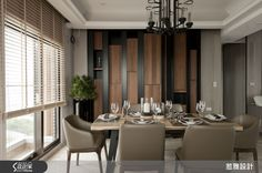 Jalan International Design New Oriental Style Design Picture Jay of 8 - Design Home Searchome Dining Buffet, Dining Set, Dining Room, Living Room Modern, Living Room Designs, Tv Feature Wall, Rooms Ideas, Interior Blogs, Lobby Design