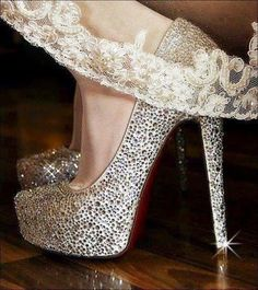 Christian Louboutin Fall 2015 Fashion high heels, fashion girls shoes and men shoes ,just here with best price Stilettos, Cute Shoes, Me Too Shoes, Pretty Shoes, Sparkly Heels, Pink Heels, Silver Heels, Christian Louboutin Heels, Louboutin Pumps