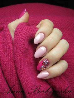 by Ania Borkowska Indigo Nails Lab - Find more Inspiration at www.indigo-nails.com #Nail #Nailsart #Bling #Shine