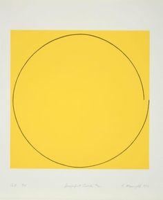 Robert Mangold, Imperfect Circle #2, 1973