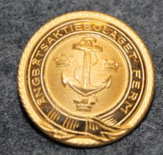 Ångbåtsaktiebolaget Ferm, shipping company, 24mm gilt