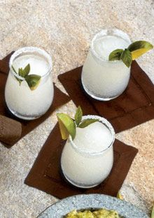 Mint Margaritas- when the derby is on Cinco de Mayo