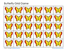 Butterfly Grid Game