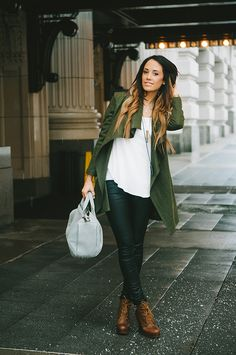 Casual Green | Styled Avenue