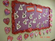 Valentine's Day Kids Craft and Bulletin Board Idea