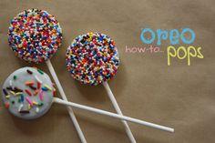 Oreo pops!