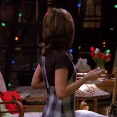 """This plaid dress 