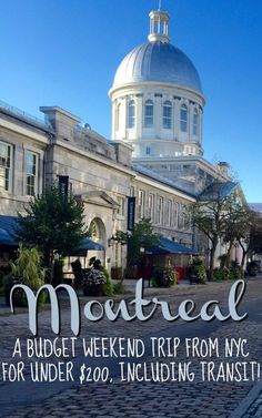 Montreal is a fantastic destination for a weekend trip from New York City. Read…