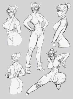 Drawing Female Body, Body Reference Drawing, Human Figure Drawing, Drawing Reference Poses, Female Drawing Poses, Anime Poses Female, Male Pose Reference, Figure Sketching, Anatomy Sketches