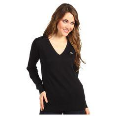Lacoste-Women-Extra-Fine-Cotton-V-Neck-Sweater-