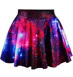 Special Offer: $2.66 amazon.com Material:Polyester,Spandex Skirt Length:Above Knee, Mini Silhouette:Pleated Pattern: Cartoon, Floral, Movie Skirt type:Pleated skirt Waist-type:High waist,Loose waist This skirt has an elastic waist, is light weight, and has a soft feel that gives it...