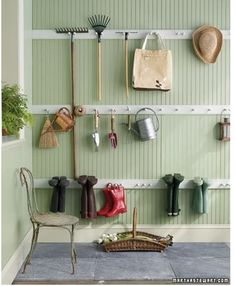 My studio on pinterest american houses potting sheds for Peg rail ikea
