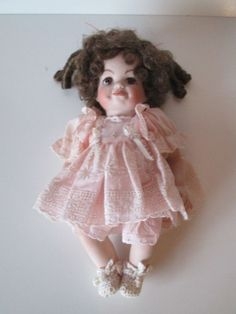 Pocilian Baby Doll In Pink Dress