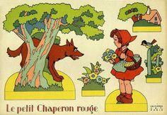 Il favoloso mondo di carta di Totò: Le petit chaperon rouge