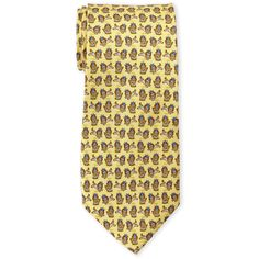 Pierre Cardin Lion King Silk Tie ($11) ❤ liked on Polyvore featuring men's fashion, men's accessories, men's neckwear, ties, metallic, mens silk ties and mens ties