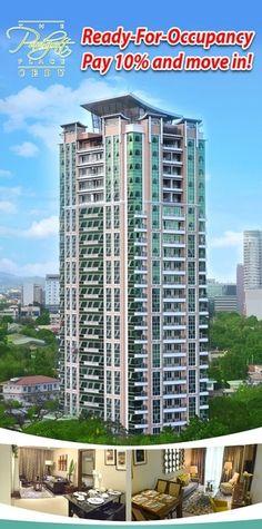 READY FOR OCCUPANCY UNITS Cebu, Condominium, Skyscraper, Multi Story Building, The Unit, Places, Skyscrapers, Lugares, Cebu City