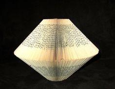 Paper Book Sculpture by PaperStatement Book Sculpture, Sculptures, Book Lamp, Paper Book, Book Folding, Art Object, Book Gifts, Book Lovers, Fun Stuff