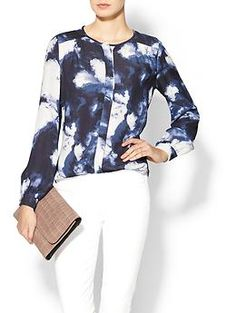 I can always use silk (or other high-quality fabric) blouses. Kate Spade New York Dusk Clouds Crepe Blouse @ Piperlime