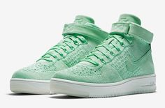 Look For The Nike Air Force 1 Ultra Flyknit Mid Enamel Green Next Year