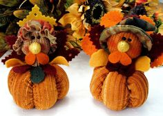 Turkey Couple Mr & Mrs Gobble Thanksgiving by ParadeOfMemories