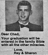 Chad's always been our favorite.