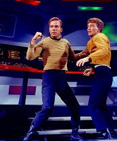 Kirk and Charlie