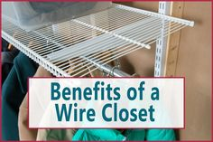 Planning a custom closet? See if wire ventilated shelving is for you in this recent post in the Organize-It Closet Design Blog.