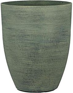 Stone Light MK Series Cast Stone Planter, Size - 11  x 11 x 14 inches, Color - Stone, Pack of 6