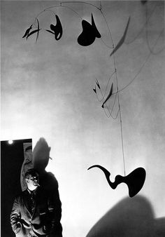 Calder. 4.3.4 Discuss motivation for works of art by artists such as calder and butterfield who use recycled material.