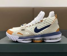 """official photos 39907 7e1cf Bleacher Report Kicks on Instagram  """" First look at the Nike LeBron 16  inspired by the """"Medicine Ball"""" Air Trainer 3. """""""