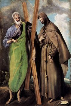El Greco - St Andrew and St Francis -1595