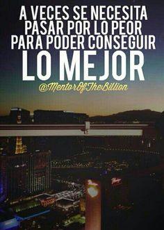 Mentor of the billion. Frases. Motivación.