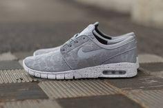 Nike SB Stefan Janoski Max: Wolf Grey/White