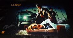 """Aaron Staton Authentic Hand-signed """"l.a. Noire"""" 11x17 Photo (exact Proof) from $39.99"""