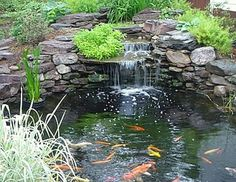 Gorgeous Backyard Ponds and Water Garden Landscaping Ideas (64)