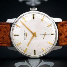 Serviced 1950s LONGINES Swiss Vintage Gents Classy Dress Watch Longines Cal. 490