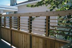 Louvered Railing Tops