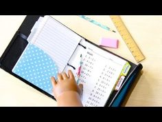 ▶ How to Make a Doll School Binder - YouTube