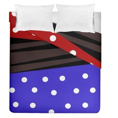 "Mixed-lines-dots Black-bg Duvet Cover Double Side (Queen Size) #duvets #bedroom #bedding #home #decor #art Dream even sweeter dreams when you lay your head down to sleep at night under your personalized duvet quilt! With a range of sizes to choose from you can design matching sheets for your whole family. Why not match it with pillow cases and a fitted sheet as well to have a complete set? Bed Size: Queen Size Dimensions: 88"" H x 88"" W Material: Cotton and Polyester blend Double-Sided Print Funny Sleep, Sleep Room, Room Stuff, Can Design, Bed Sizes, Queen Size, Bedding Sets, Duvet Covers, Pillow Cases"