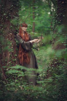 "naomhan: ""  Photo: Aneta Pawska - Enchanted Stories Model: Anna Gąsiorowska """