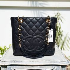 a73833b21 شنط برادا السعر 200ريال. Wa.4444 4 · محمود · #Chanel Black Caviar Petite  Shopping Tote GHW Condition: Excellent Price: AED 4,490 We