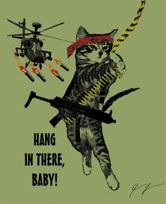 Hang in there kitty simpsons