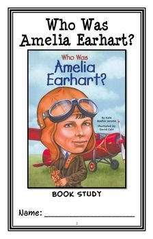 Who Was Amelia Earhart? (Kate Boehm Jerome) Book Study / Comprehension (29 pgs) * Follows Common Core Standards *  This 29-page booklet-style Book Study is designed to follow students throughout the entire book.  The questions are based on reading comprehension, strategies and skills. The book study is designed to be enjoyable and keep the students engaged.