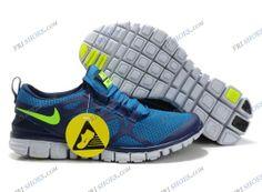 Nike Free 3.0 V3 Blue Green Mens athletic running shoes nike store Regular Price: $148.00