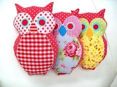 dvora zerach    Owl Sewing Plush