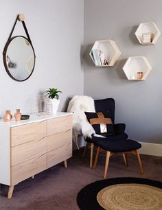 Buy Clarence Modern Drawer Chest Dresser Online   Scandinavian & Danish Dresser - Retrojan