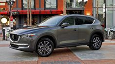 View detailed pictures that accompany our 2017 Mazda CX-5: First Drive article with close-up photos of exterior and interior features. (25 photos)