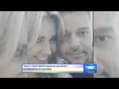 """Thalia feliz de que Ricky Martin sea """"su nuevo esposo"""" (""""Despierta America"""" - 04.06.2015) - YouTube"""