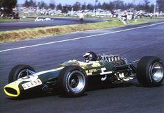 Jim Clark, Lotus 49, Mexico 1967.